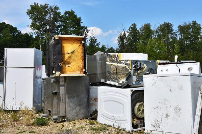 appliance disposal in Louisaina